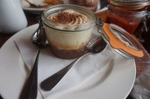 Tiramisu after lunch